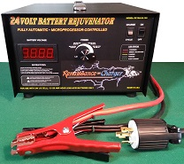 RC-15A24-120 24V Industrial Rejuvenator Charger with Load Cycling feature