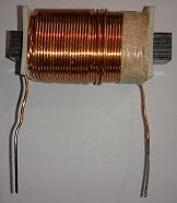 Mini motor or generator coil