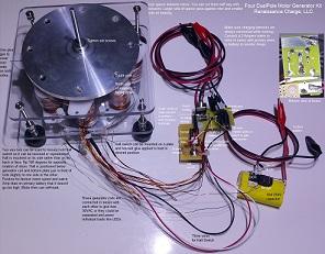 4 Pole Mini DualPolar Magnet Motor