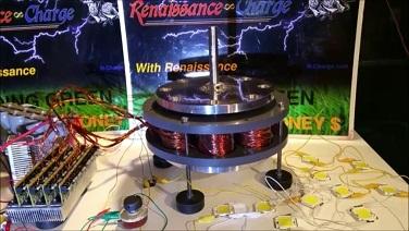 4 Pole large DualPolar Magnet Motor (unassembled)