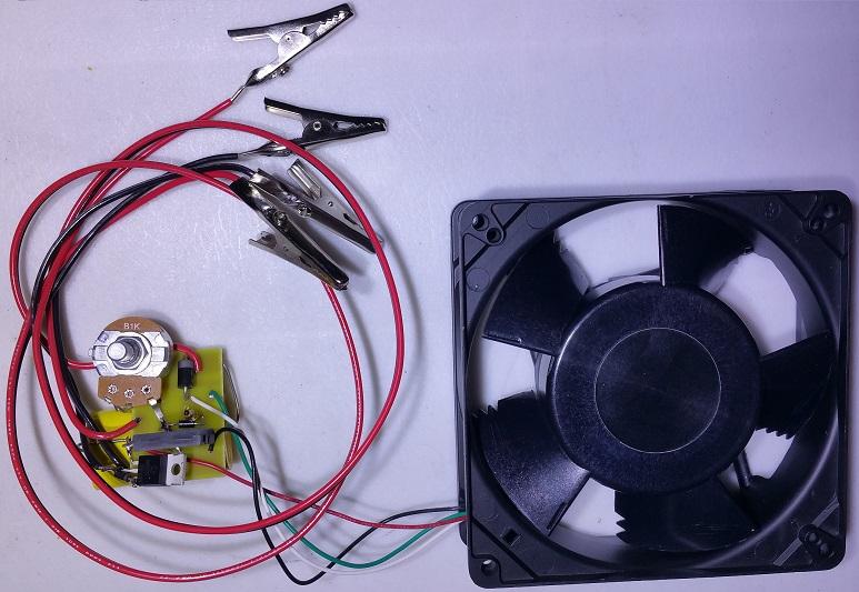 5 Inch Brushless Negative Energy Charging Conversion Fan Kit