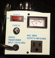 500VA Variac